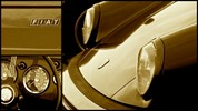 Thumbnail Car Show details Collage in Sepia