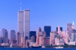 Thumbnail Worlld Trade Center, New York City skyline 1999