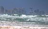 Thumbnail Daytona Beach Buildings with Hurricane Irene waves