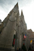 Thumbnail St. Patricks Cathedral under cloudy skies in New York City