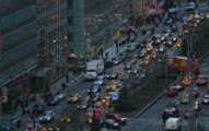 Thumbnail Evening traffic on Park Avenue, NYC