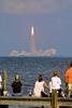Thumbnail Spectators watch Space Shuttle Atlantis Blast-off