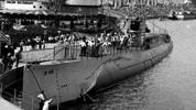 Thumbnail Submarine on display at the Worlds Fair, 1933