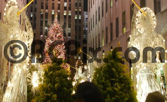 Pay for Rockefeller Center Christmas tree and decor, NYC