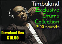 Thumbnail Timbaland Exclusive Drums Collection