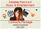 Thumbnail Entertainment Contracts Package