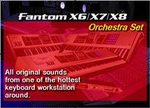 Thumbnail Fantom X8 Orchestra Set