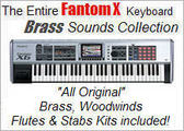Thumbnail The Fantom X  Brass Collection Kits