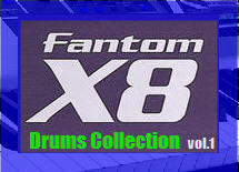 Thumbnail Fantom X8 Drums Collection vol.1