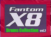 Thumbnail Fantom X8 Drums Collection vol.2
