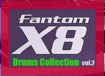 Thumbnail Fantom X8 Drums Collection vol.2