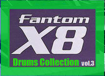 Thumbnail Fantom X8 Drums Collection vol.3