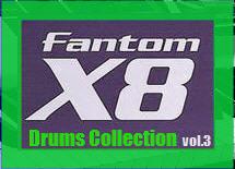 Thumbnail Fantom X8 Drums Collection vol.3