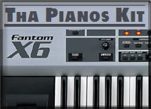 Thumbnail Fantom X6 Pianos Kit
