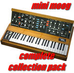 Thumbnail Mini Moog Complete Collection Pack