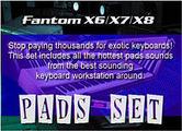 Thumbnail Fantom X8  Pad Set