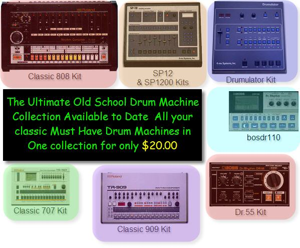 Pay for Old School Drum Machine Kits