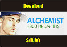 Pay for The Alchemist Drum Kit 800+ sounds