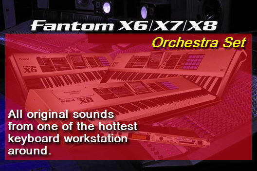 Pay for Fantom X8 Orchestra Set