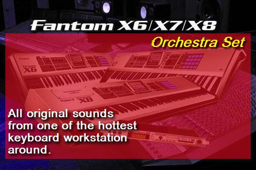 Pay for Fantom X8 Orchestra Set