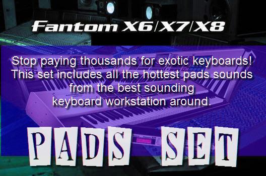 Pay for Fantom X8  Pad Set