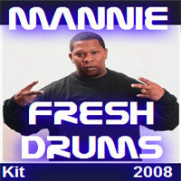 Pay for Mannie Fresh Drums Kit  2008