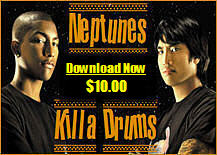 Pay for Neptunes Killa Drums