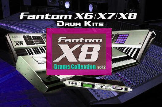 Pay for Fantom X8 Drums Collection vol.2