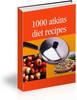 Thumbnail 1000 Atkins Diet Recipes - Download Recipes/Manuals