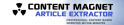 Thumbnail Content Magnet Article Extractor -Download Internet/Network