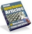 Thumbnail 50 Instant Internet Marketing Articles - Download Business