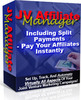 Thumbnail JV Affiliate Manager With Master Resell Rights