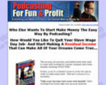 Thumbnail Podcasting For Fun & Profit - Download Business