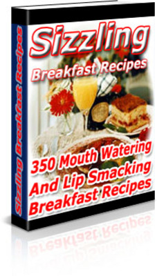 Pay for Sizzlig Breakfast Recipes