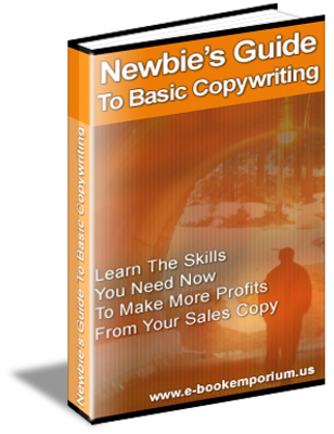 Pay for Newbies Guide To Basic Copywriting + Master Resell Rights  -