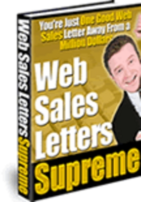 Pay for Web Sales Letters Supreme - Download Business