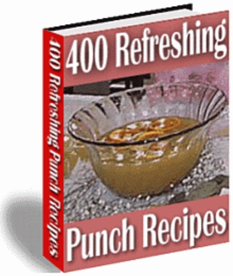 Pay for 400 Refreshing Punch Recipes - Download Recipes/Manuals