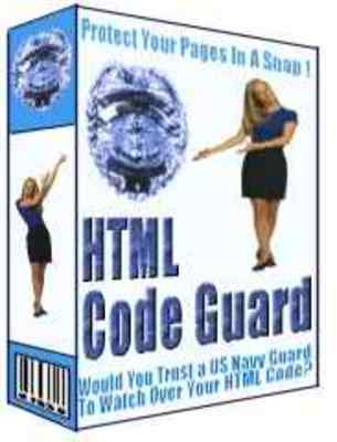 Pay for HTML Code Guard - Protect Your Web Pages And Double Your Pro