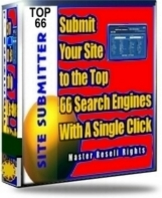 Pay for Advanced Site Submitter Software With Master Resell Rights