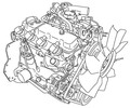 Thumbnail Mitsubishi K15, K21, K25 Gasoline Engine Service Manual