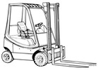 Thumbnail Linde Forklift Truck H350-03 Series with Diesel Engine: H12, H16, H18, H20 Operating Manual (User Manual)