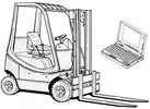 Thumbnail Linde IC Engined truck H350-03 Series: H12, H16, H18, H20 Service Training Manual