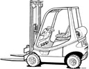 Thumbnail Linde LPG Forklift Truck 350-02 Series: H12, H16, H18 Operating Manual (User Manual)