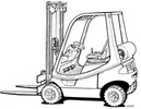 Thumbnail Linde LPG Forklift Truck 350 Series: H12, H16, H18 Operating Manual (User Manual)