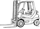 Thumbnail Linde LPG Forklift Truck 351-03 Series: H20, H25, H30, H35 Operating Manual (User Manual)