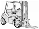 Thumbnail Linde IC-Engined Forklift Truck Type 351: H20, H25, H30 Service Training Manual