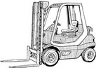 Thumbnail Linde IC-Engined Forklift Truck 351-02 Series: H20, H25 Service Training Manual