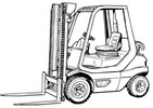 Thumbnail Linde LPG Forklift Truck 351-02 Series: H20, H25 Operating Manual (User Manual)