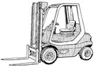 Thumbnail Linde Diesel Forklift Truck 351-02 Series  H20, H25, H30 Service Training Manual