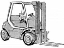 Thumbnail Linde Forklift Truck 352 Series: H35, H40, H45 Service Training Manual.
